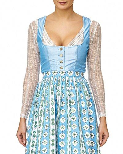 body/blouse, dirndlblouse, dirndlbody, kan ook zonder dirndl worden gedragen, wit, kant, maat 36/38, lange mouwen, super modern, leuk cadeau, blouse, extravagant, klederdrachtblouse wit