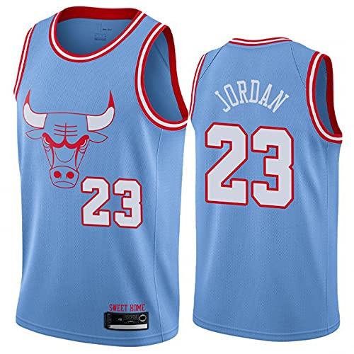 QGF Hombres # 23 Michael Jordan Camisetas De Baloncesto Chicago Bulls Camiseta...