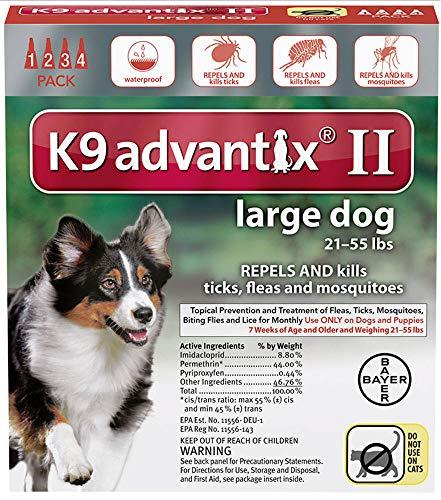Price comparison product image Bayer K9 Advantix II Liquid Dog Flea Drops 0.34 oz.