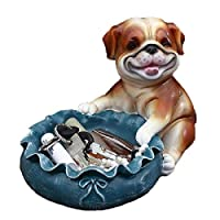 GYW-YW 置物 ジュエリーアートクラフトホームワインクーラーシューズキャビネットの装飾キーストレージ創造犬の動物 工芸品