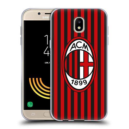 Head Case Designs Officiel AC Milan Home 2019/20 Crête Kit Coque en Gel Doux Compatible avec Samsung Galaxy J5 (2017)