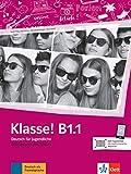 Klasse! b1.1 libro de ejercicios + online: Ubungsbuch B1.1 mit Audios online