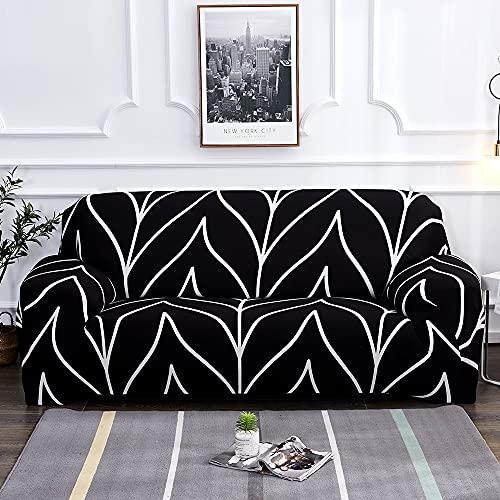 MKQB Funda de sofá Jacquard, celosía Antideslizante retráctil Impresa, Funda de sofá de Esquina Lavable, Funda de sofá de protección para Mascotas NO.5 S (90-140cm