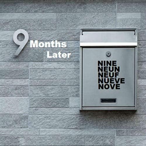 Nine Neun Neuf Nueve Nove