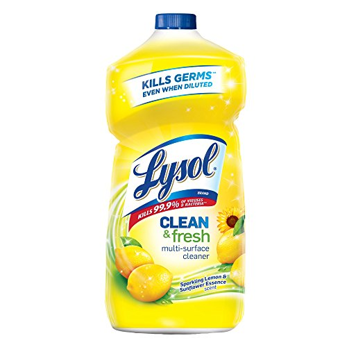 Lysol Clean & Fresh Multi-Surface Cleaner, Lemon & Sunflower, 40oz