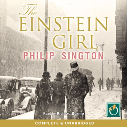 The Einstein Girl audiobook cover art