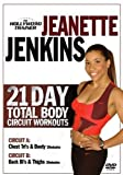 21 Day Total Body Circuit Workout The Hollywood Trainer DVD With Jeanette...