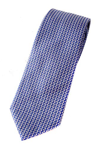 Armani Emporio Corbata de hombre 100% seda (Royal Blue)