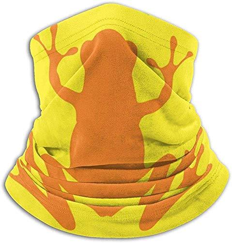 Olive Helin(a) Frosch-Abzeichen-Nackenwärmer - Kopfbedeckung-breite Stirnbänder-Schal-Kopf-Verpackungs-Maske