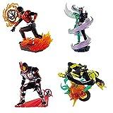 プチラマシリーズ 仮面ライダー Legend Rider Memories(レジェンド ライダー メモリーズ)(BOX) 約75mm PVC製 塗装済み完成品フィギュア