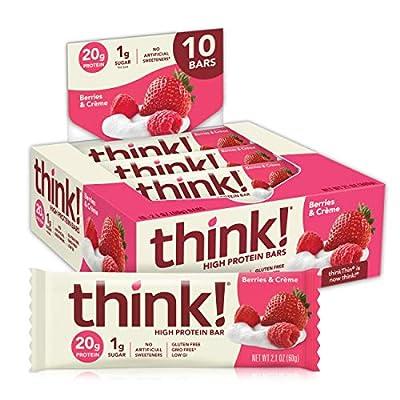 think! (thinkThin) High Protein Bars