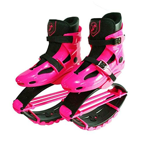 FBEST Kangoo Jumps Girls Fitness Shoes Gravity Boots Kids Bounce Boot Weight Load Range 50-70KG