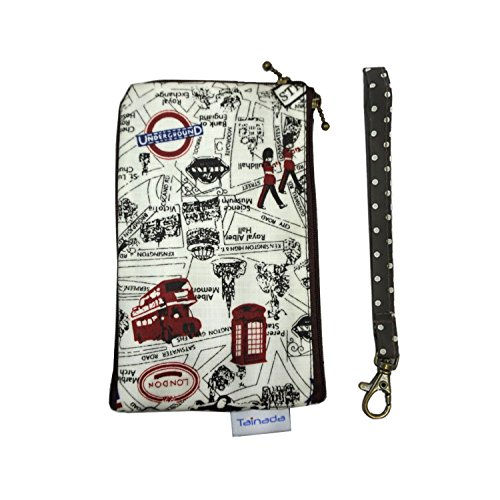 Smartphone Wristlet Wallet Pouch, Tainada Dual Layers...