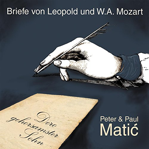 Dero gehorsamster Sohn - Mozart-Briefe  By  cover art