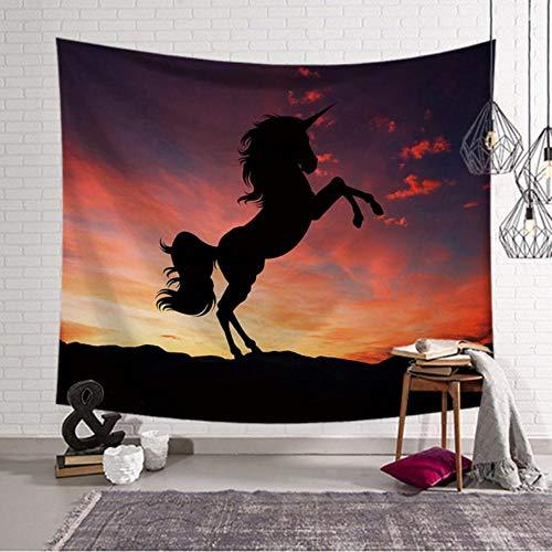 EDCV muur opknoping polyester Decor 50x130cm Boheemse tapijt Tapijt tapijt rechthoek strand handdoek deken, H, 95x73cm38x29inch