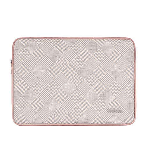 ANBF Simplicity - Funda de piel sintética para MacBook Air 13 2018 2019 Pro 15 Touch Bar Funda para portátiles (color: B G-rosa, tamaño: Surface Laptop 13,5)