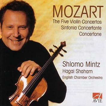 Mozart: The Five Violin Concertos / Sinfonia Concertante / Concertone