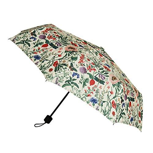 Signare Mode Kompakte Regenschirm Faltbarer Regenschirm fur Damen Stil Modell Morgen Garten