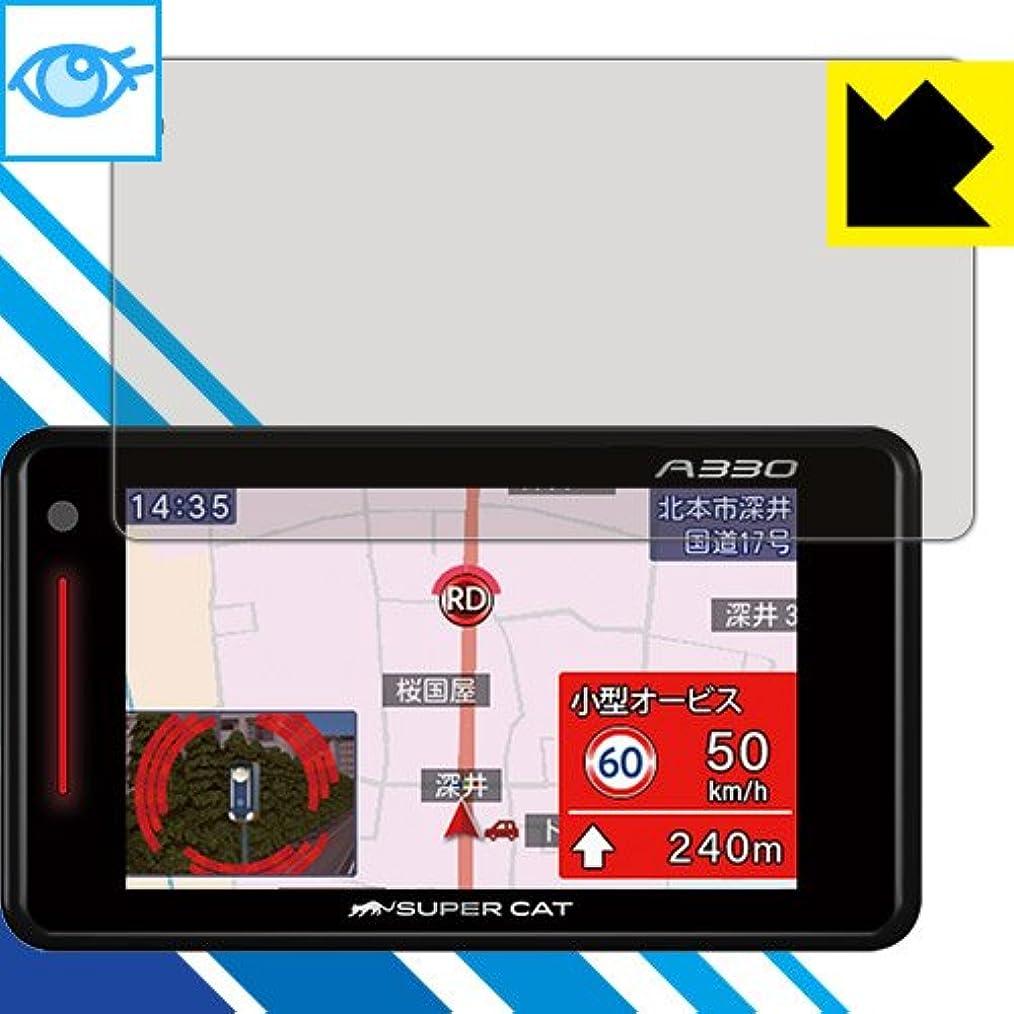 アンドリューハリディカートリッジキャラクターLED液晶画面のブルーライトを35% カット ブルーライトカット保護フィルム GPS&レーダー探知機 SUPER CAT (2018年モデル) 日本製
