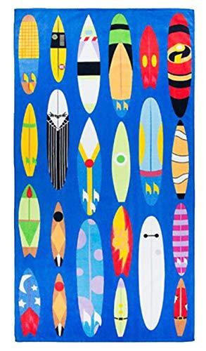Disney Character Surfboards Beach Towel
