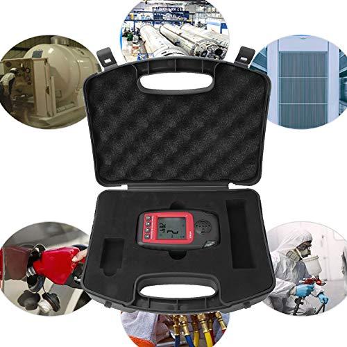 Detector de medidor de monóxido de carbono LCD portátil Probador de gases tóxicos de gas CO 0-1000ppm - Productos de muy buena calidad, no una pila de basura