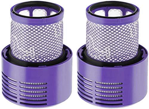YBINGA Accesorios para Dyson Vacuum Dog Pet Animal Novio Cepillo Accesorio Manguera de extensión para Dyson V11 V10 V8 V7 con adaptador convertidor Partes de aspirador (color 2 piezas)