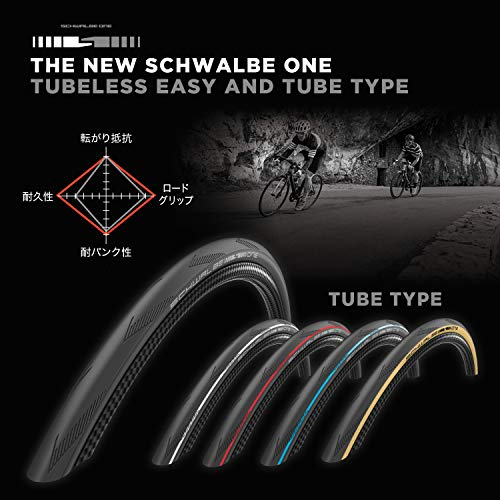 Schwalbe One nero para HS462A