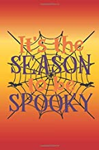 It's the season to be spooky: Fun quote Halloween notebook with spooky quote. Great gift for women and girls.