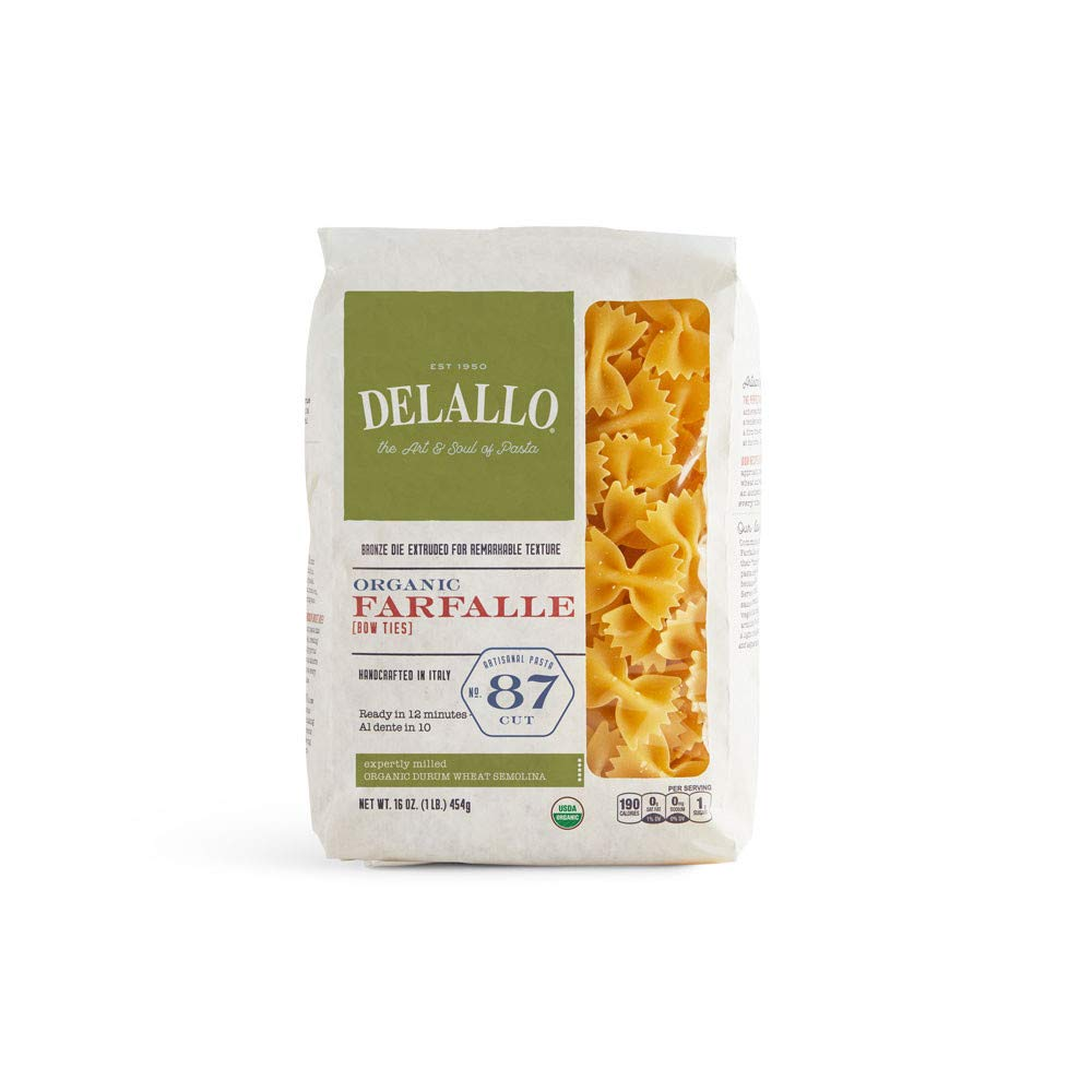 sold out DeLallo Organic Farfalle Max 41% OFF Pasta 1 16 lb. Pack of