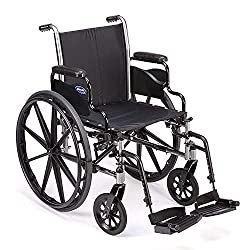 Best Narrow Width Self Propelled Wheelchairs # 6 - Invacare Tracer Manual Wheelchair SX5