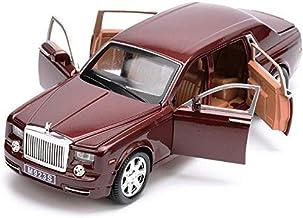 Zhipeng Coche Modelo del Coche Modelo de simulación Seis Puerta de Sonido y música luz de Nuevo a la aleación de Coches de Juguete de Coches 01:24 Rolls Royce Phantom hsvbkwm