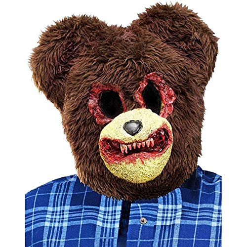 Scary Teddy Bear Costume Mask