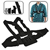 Xtech Adjustable Chest Mount HARNESS for GoPro HERO4 Hero 4, GoPro HERO3 Hero 3, GoPro Hero3+, GoPro Hero2, GoPro HD Motorsports HERO, GoPro Surf Hero, GoPro Hero Naked, GoPro Hero 960, GoPro Hero HD 1080p, GoPro Hero2 Outdoor Edition and All GoPro HERO Cameras