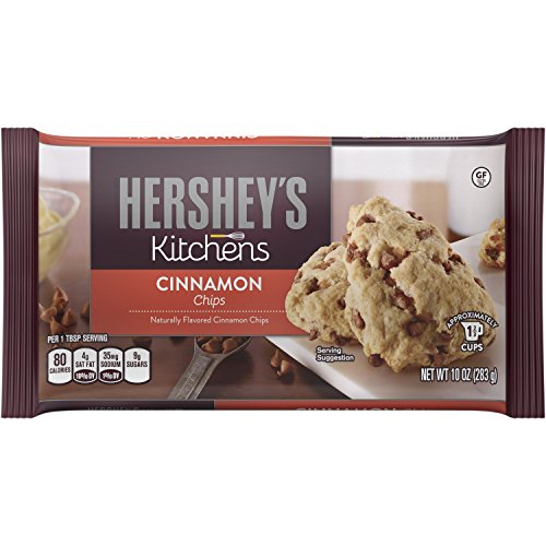 Hershey's Baking Pieces, Cinnamon, 10-Ounce Bags (Pack of 12)