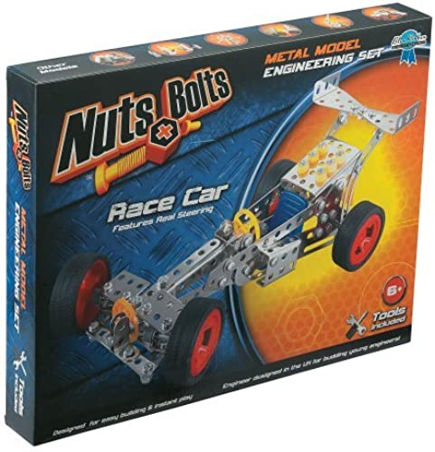 Nuts & Bolts Race Car Building Set by Nuts & Bolts