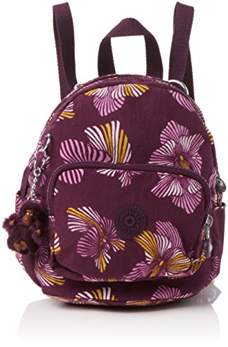 Kipling Mini Backpack, Women's Mehrfarbig (Herridage Fl), 17x19x21.5 cm...
