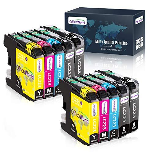 OfficeWorld LC 223 Ersatz für Brother LC223 Druckerpatrone, Kompatibel mit Brother DCP-J4120DW MFC-J5320DW DCP-J562DW MFC-J880DW MFC-J5620DW MFC-J680DW MFC-J4625DW MFC-J5720DW J4625DW, 10er-Pack
