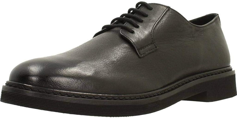 Geox Halbschuhe Halbschuhe  Derby-Schuhe, Farbe Schwarz, Marke, Modell Halbschuhe  Derby-Schuhe U DAMOCLE Schwarz  bevorzugt