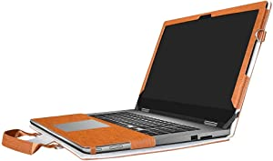 Labanema Case for Inspiron 13 2-in-1, 2 in 1 Accurately Designed Protective PU Leather Cover + Portable Carrying Bag for 13.3