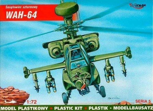 Mirage Hobby 72053 1:72 échelle, WAH-64 - hélicoptère d'attaque, kit de modèle en plastique