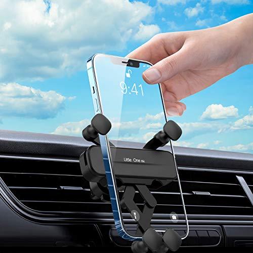 Ossky Soporte Móvil Coche Rejillas del Aire 360 Grados Rotación Ventilación ,Soporte para telefono movil Coche Adecuado para iPhone 12/11 y Todos los teléfonos de 4.7 Pulgadas a 6.5 Pulgadas