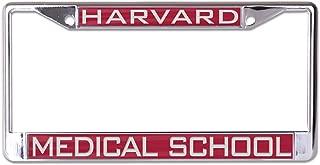 WinCraft Harvard Medical School NCAA Inlaid Metal License Plate Frame