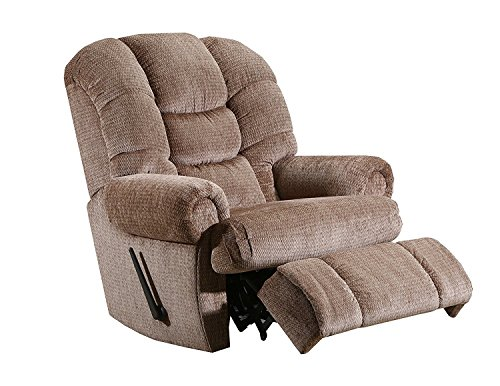 "Lane Stallion Big Man (Extra Large) Comfort King Recliner. Holds Weights of up to 500 lbs. 79"" Extended Length. Free curbside delivery."