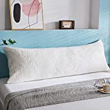 WhatsBedding Full Body Pillows for Adults -Removable Zippered...