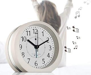 HSXOT Multi-Música Creativo Despertador Perezoso Estudiante Cabecera Mudo Reloj Digital Lindo Noche Luz Moda Asiento De Los Niños
