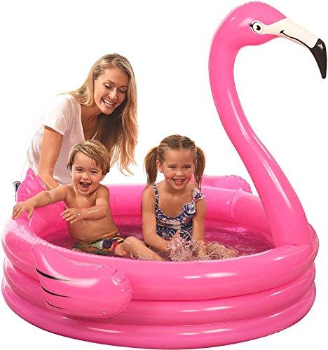 Coconut Float Inflatable Kiddie Pool (Flamingo)
