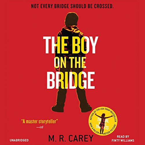 The Boy on the Bridge audiobook cover art