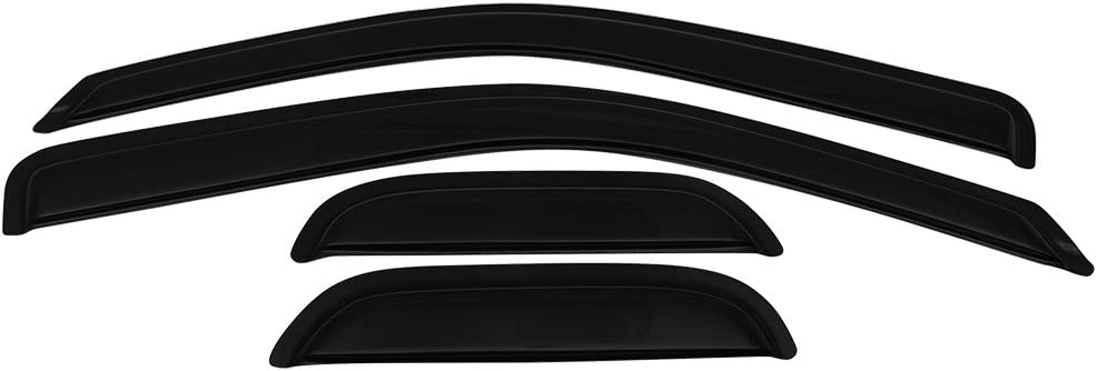 Window Visor Compatible outlet With 2004-2012 Colorado Canyon GMC Chevy Max 55% OFF