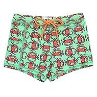SwimZip Kid's Euro Swim Shorties - UPF 50+ Swim Trunks - Multiple Colors