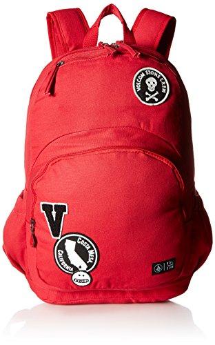 Volcom - Fieldtrip Cnvs Bkpk, Mochilas Mujer, Rojo (Road Red), 16.5x45.75x44.5 cm (B x H T)